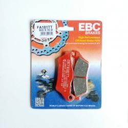 Pastillas de Freno EBC Brakes Carbono FA185TT