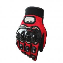 Guantes para Moto Pro-Biker MCS - 01C Rojo