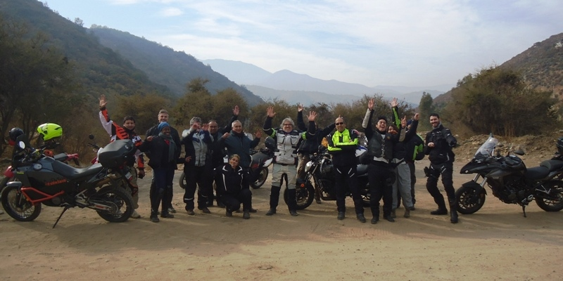 MotoRides Full Day – Colliguay (on/off road)